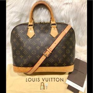 Authentic Louis Vuitton Alma Tote #1.5P